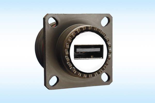 D38999 USB, RJ45 Stecker