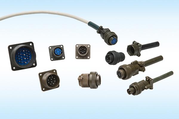 CA Winkel-Rundsteckverbinder